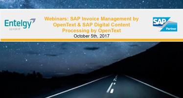 "DCL Consultores presenta los Webinar ""SAP Digital Content Processing y SAP Invoice Management by OpenText"""