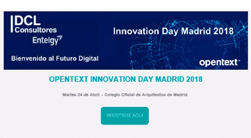 Bienvenido al Futuro Digital: Innovation Day Madrid 2018