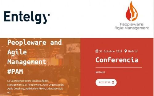 Peopleware and Agile Management #PAM - 31 de octubre