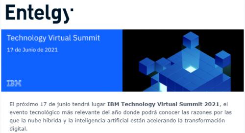 IBM Technology Virtual Summit 2021
