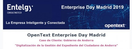 OpenText Enterprise Day Madrid -