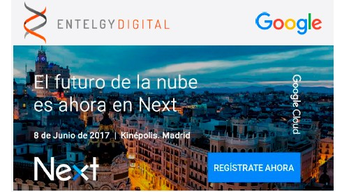 Entelgy Digital en Google Cloud Next