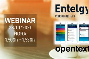Webinar: Entelgy te ayuda a trabajar de forma segura con OpenText Content Server Mobile
