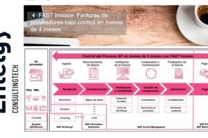 """Entelgy presenta en AUSAPE la sesión """"FAST Invoice: Facturas de proveedores bajo control en pocos meses"""""""