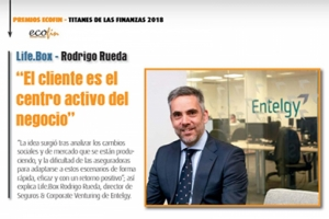 Entrevista a Rodrigo Rueda sobre Life.Box, Premio Titanes de las Finanzas 2018 de ECOFIN