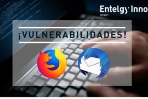 Cuatro vulnerabilidades en Firefox y Thunderbird