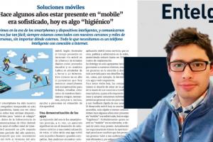 Entelgy muestra su capacidad de soluciones móviles en Gerencia Revista