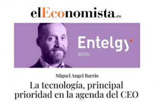 La tecnología, principal prioridad en la agenda del CEO