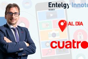 Cuatro TV entrevista a Félix Muñoz, CEO de Entelgy Innotec Security sobre el pasaporte COVID