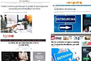 Los medios de comunicación destacan las ventajas de Entelgy en Outsourcing