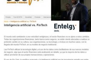 ¿Quieres saber más sobre FinTech? Ecofin publica la tribuna de Miguel Ángel Barrio: Inteligencia artificial vs. FinTech