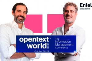 """Entelgy participa en el OpenText World 2020 presentando la solución """"Fast Claim"""""""