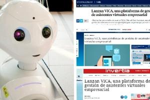 ViCA, una plataforma de chatbots única ¡También en los medios!