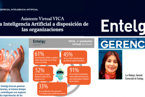 Gerencia destaca ViCA de Entelgy en su especial de Inteligencia Artificial
