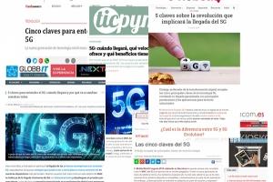 ¿Conoces las 5 claves del 5G? Todo lo que necesitas saber de esta tecnología