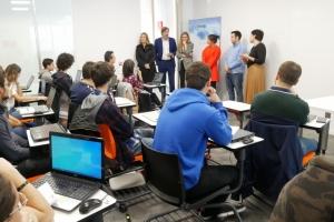 Entelgy Innotec Security da la bienvenida a los alumnos que comienzan el curso de formación dual en ciberseguridad