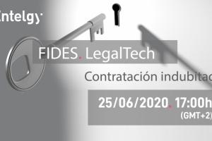 Apúntate al webinar de FIDES, la solución de Entelgy de Contratación indubitada