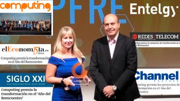 La prensa destaca la presencia de Mapfre y Entelgy en los Premios Computing 2021