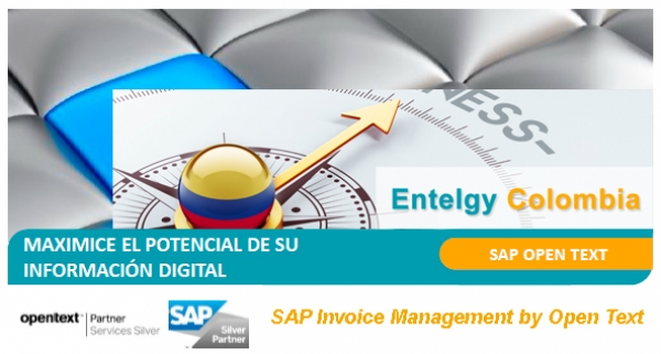Entelgy en Colombia implementará SAP Invoice Management by OpenText para Bancolombia