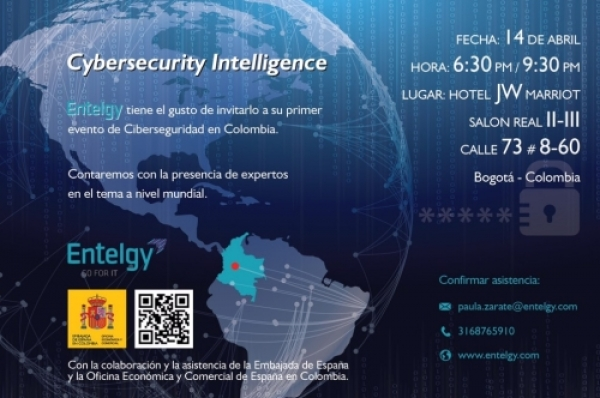 Cybersecurity Intelligence: Entelgy celebra su primer evento de Ciberseguridad en Colombia