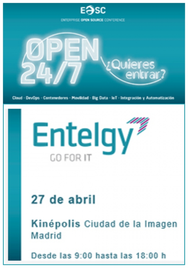 Entelgy participa en la Enterprise Open Source Conference (EOSC17) de Red Hat