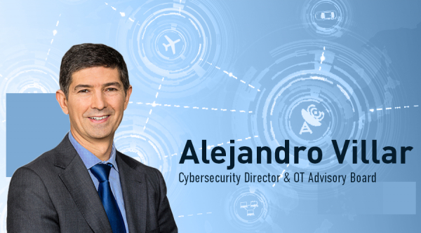 Alejandro Villar, nuevo cybersecurity director & OT Advisory Board en Entelgy Innotec Security