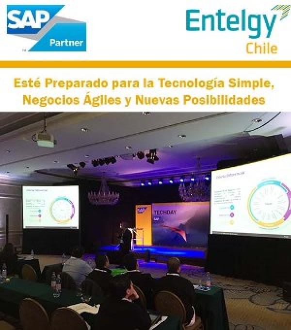 Entelgy Chile participa activamente en el SAP TechDay