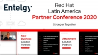 Entelgy premiado en el Red Hat Latin American Partner Conference 2020