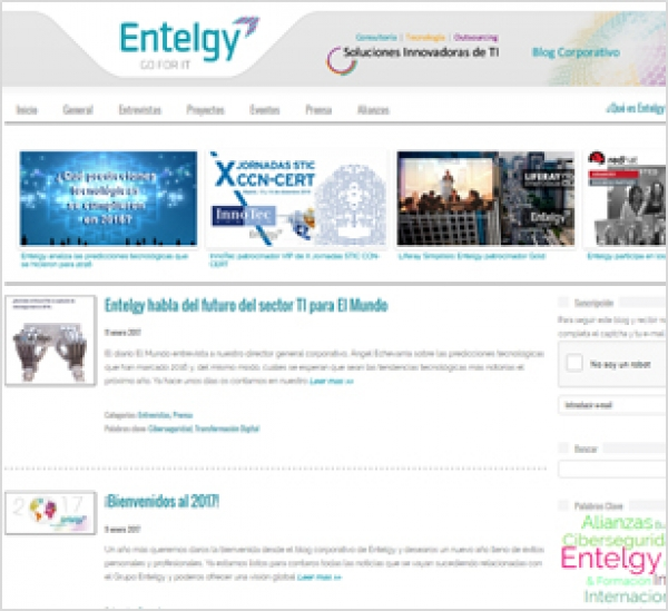 10 años de Blog Corporativo de Entelgy