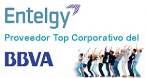 Entelgy, proveedor TOP Corporativo del BBVA