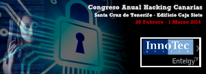 InnoTec_Eventos_Seguridad 2014_CongresoAnualHackingCanarias