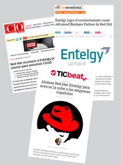Entelgy es Advanced Business Partner de Red Hat - Medios