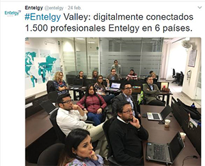 Transformación Digital - Entelgy Valley - Entelgy en 6 paises