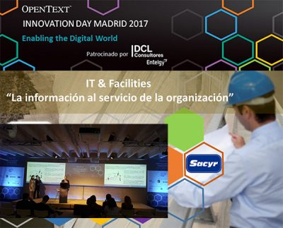 DCL Consultores Entelgy - OpenText Innovation Day Madrid