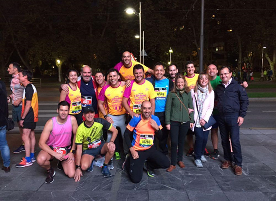 Entelgy Ibai Sport Club_participaciónEDP Bilbao Night Marathon