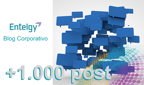 1000 post del blog corporativo de Entelgy