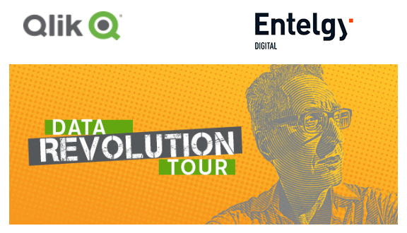 Entelgy Digital patrocina Qlik Data Revolution Tour 2018
